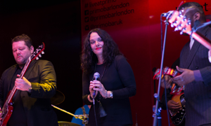 Loretta Haywood and band